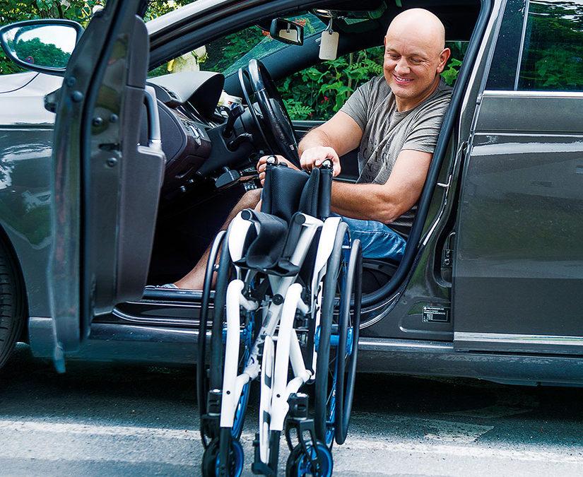 meyra smart advanced folding wheelchair