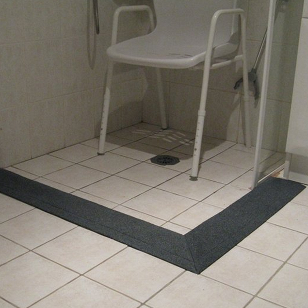 shower retention ramps